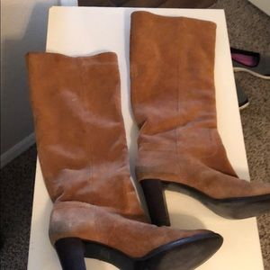 Shoes - Leather Tall Boots